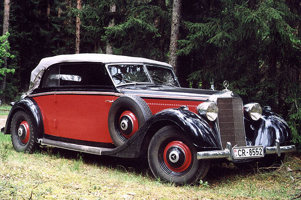 1942 mercedes 320 cabriolet d convertible. Black Bedroom Furniture Sets. Home Design Ideas